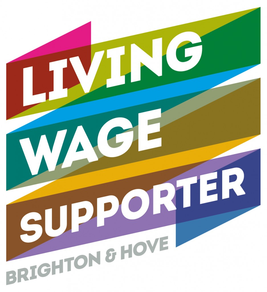 living wage supporter logo
